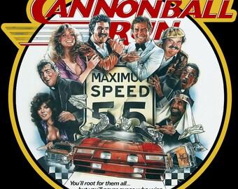 Cannon Ball Run Vintage Image T-shirt