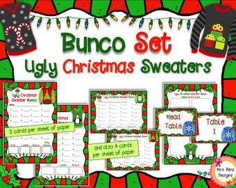 Ugly Christmas Sweater Bunco