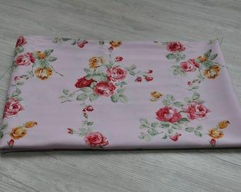 chinese flower Fabric 1/2 yard