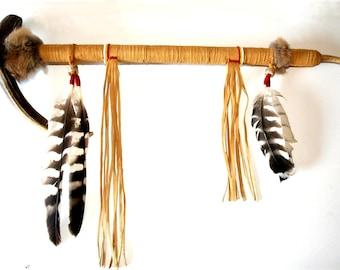 Apache Pipe Deer Antler Peace Pipe