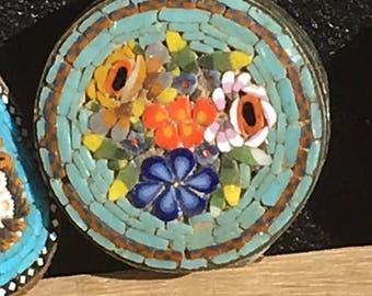 Vintage Italian Mosaic Pill Boxes