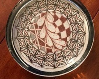 Zentangle® Inspired Art Paperweight