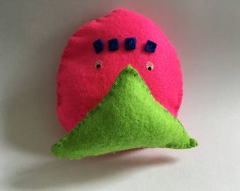 Colorful felt toy