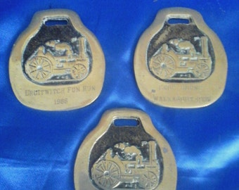Vintage Horse Brass's 'Old Steam Train' Fun Run and 2 Walkabouts 1985/6