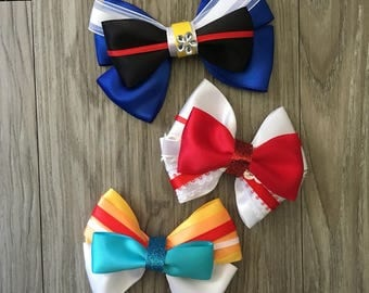 Mary Poppins & Bert Inspired Character Hair Bows
