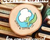 Custom listing for Leann!