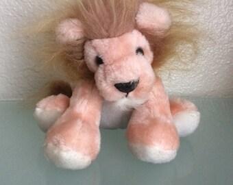Vintage DIV HUDSON Soft Toy Lion 1981