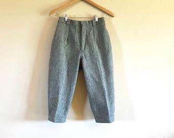 Vintage Woolrich Ski Trousers, Vintage Woolrich Wool Ski Pants, Vintage Woolrich Woman Ski Trousers Size 7/8