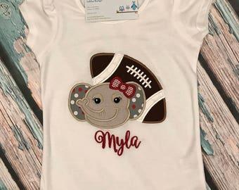 Roll Tide!! Personalized Alabama football shirt