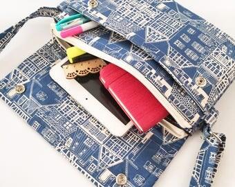 Messenger Bag, Cross Body Bag, IPad mini purse, tablet purse, iPad Air Bag, , Travel Bag, IPad Mini Case, Shoulder Bag