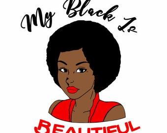 Curly Hair Natural - Black Lives Matter Shirt For Women - Kinky Curly Hair - African American Hair - Natural Hair - Strong Women Shirt