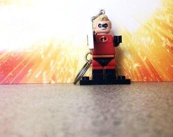 Disney Mr Incredible Lego Inspired Keyring