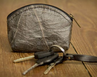 Coin bag, Leaf Purse, Leaves bag, handmade :Mini wallet made of Leaf