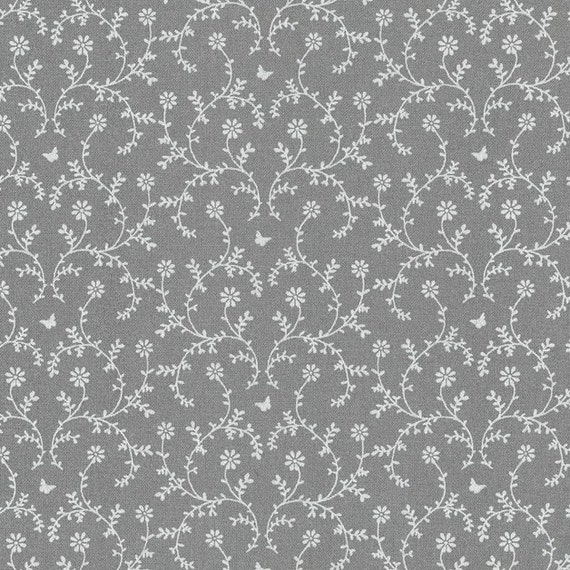 Au maison oilcloth claire dark grey dark grey coated for Au maison oilcloth uk