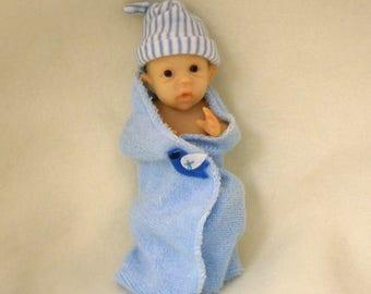 Ashton Drake Bundle Babies - Bundle of Happiness 4'' Baby Doll by Sherry Rawn