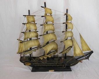 Fragata Espanola 1780 Large Model Sailing Ship