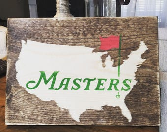 Masters Sign