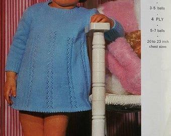 EMU 8264 Vintage Knitting Pattern