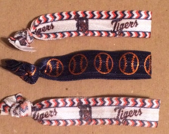 Detroit Tigers Elastic Hair Ties