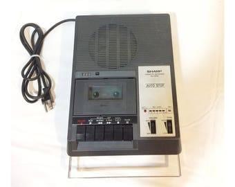 Vintage Sharp RD-767AV Commercial Cassette Player/Recorder