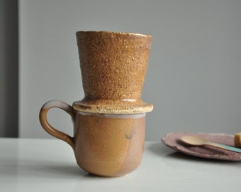 New Cream-pink Coffee Pour Over