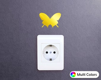 Butterfly Decal, Butterfly Sticker for iPad iPhone MacBook Or Walls and Cars