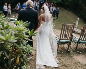 "Soft Wedding Veil 54"" Width"