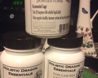 Garcinia Cambogia 70% pure powder no additives  3 bottles for  9.99,super sale now...Holistic Dragon Essentials