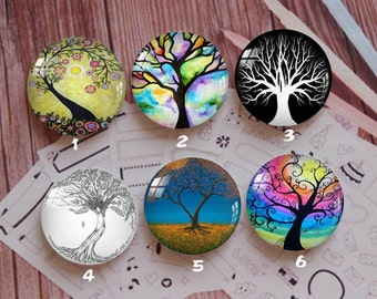 Handmade Round Photo glass Cabochons,8mm -58mm size Cute Animal Style Butterfly More-ZY878