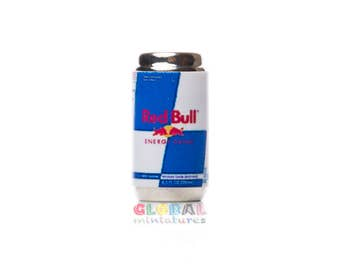 Dollhouse Miniatures Red Bull Can