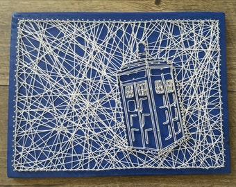 Dr. Who String Art
