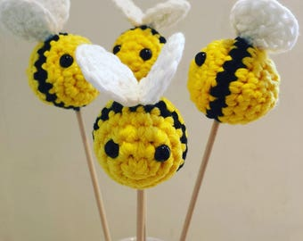 Crochet Bumble Bee Decoration