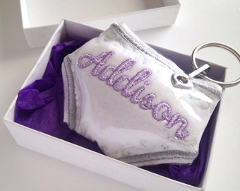 baby shower gift - personalized baby gift - cloth diaper - baby gift girl - personalized newborn gift - baby girl gift - Diaper bag tag