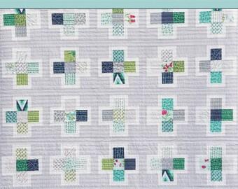 Plus Squared PDF Quilt Pattern