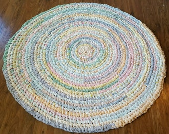 Deposit For 4 Foot Handmade Round Rag Rug Custom Made Just For You!