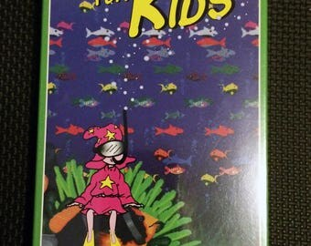 Magic Eye VIdeo,Animation VHS,Art Animation Film,Kids Art VIdeo,Childrens Video, 3D Video,3D Animation,Kids Animation,3D Adventure,Kids VHS