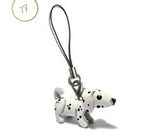 Dalmatian Key Strap