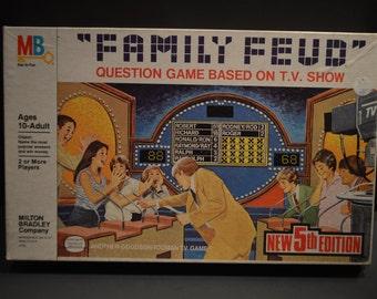 1982 5th Edition Milton Bradley Family Feud Game