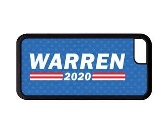 Warren 2020 Phone Case, Elizabeth Warren - iPhone X 8 7 6 6s Plus, 5c, 5 5s SE, Galaxy S8 S8 Plus S7 S6 Edge S5,  cover rubber bumper