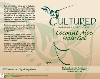 Coconut ALoe Hair Gel