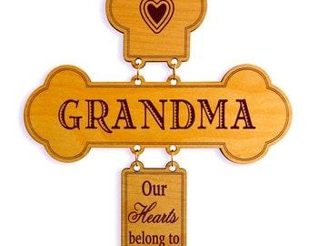 Gift to Grandmother, Gift for Granny, Grandma Gift, Grandmom Birthday Gift, Custom Grandma Cross, Mimi gift, Grandnan gift, Nanny gift