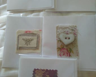 Set of 5 Greetings cards - Free postage