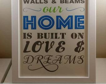 Love & Dreams Frame
