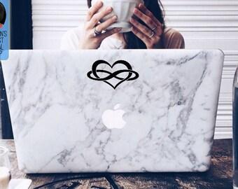 Polyamory Symbol Macbook / Laptop Vinyl Decal