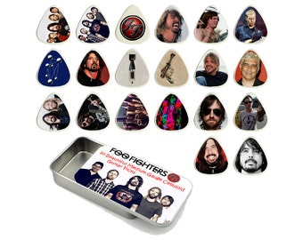 Foo Fighters Guitar Pick Gift Set - Set of 20