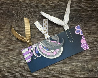 Tassel Paper Clips Set of 3 - Bookmarks - Notebook - Planner - Accessory