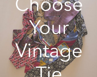 Vintage Ties | Gifts for Him