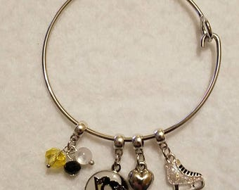 Pittsburgh Penguin Charm Cuff