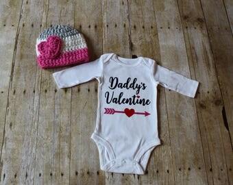 Valentine's Day Baby Girl Onesie