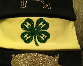 Custom livestock headband